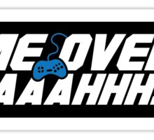 Game Over Yeah! (STICKER) Sticker