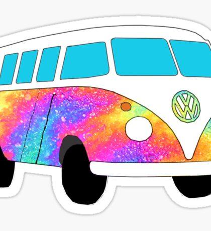 VW Oil Hippie Bus! Sticker
