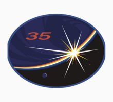 Expedition 35 Mission Patch by Spacestuffplus