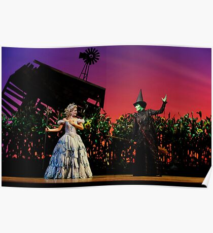 Jemma Rix and Lucy Durack in Wicked (Horizontal) Poster