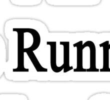 I'm The Running Coach  Sticker