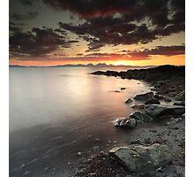 Jura Sunset Photographic Print