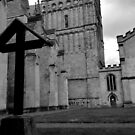 The Cross At Exeter Cathedral by Andy Mackay