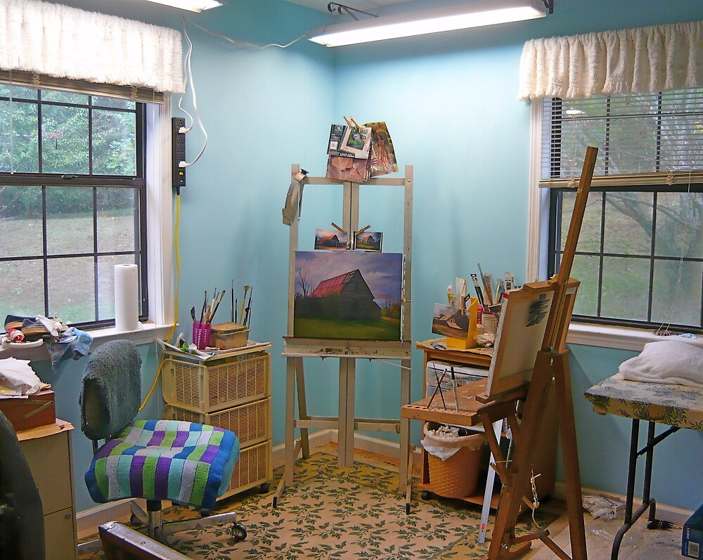 My Artistic Sanctuary by Vivian Eagleson