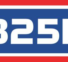 RB25DE Engine code Sticker