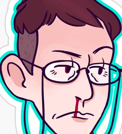 Hermann Gottlieb: Grumpy Gus Sticker