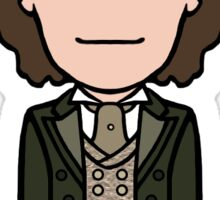 The Eighth Doctor (sticker) Sticker