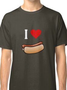 I love hot dogs Classic T-Shirt
