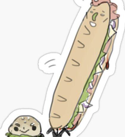 British Sandwiches Sticker