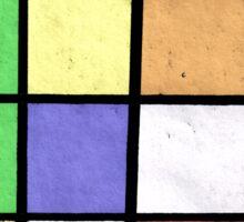 Kubrick's cube Sticker