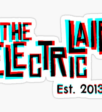 """3D """"The Electric Lair"""" Sticker"""