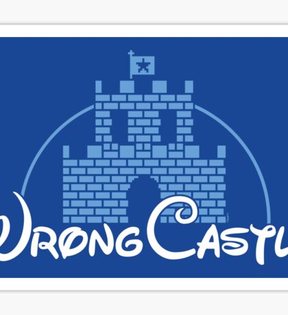 Wrong Castle (STICKER) Sticker