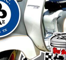 Dallas Classic Scooter Rally 2013 Design Sticker