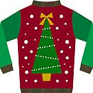 UGLY SWEATER HOLIDAY STICKER by MadNic