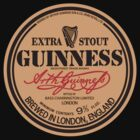 David Gilmour&#x27;s Guinness beer t-shirt by ziruc