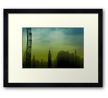 Motion Blur: London: Southbank No. 1 Framed Print