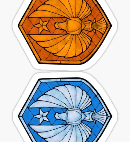 PPDC SHIELD - SM STICKERS Sticker