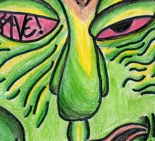 Rave Zombie Sticker