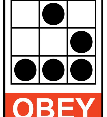 Obey Hacker Sticker