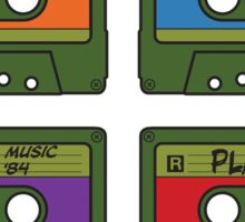 Teenage Mix Tapes Sticker