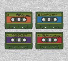 Teenage Mix Tapes by vonplatypus