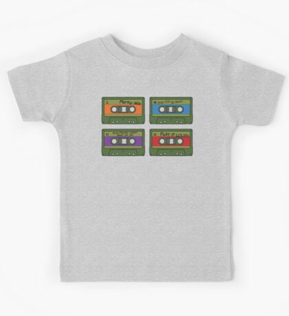 Teenage Mix Tapes Kids Clothes