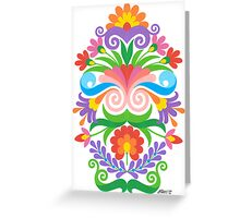 VERTICAL ART 02 Greeting Card