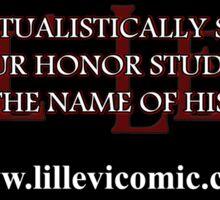 Honor Student Sticker