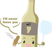 White Wine Buddy by PenguinPlot