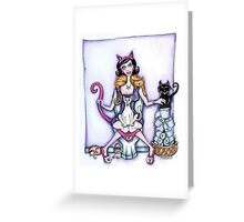 Loo Lady - Josie & the pussy cats Greeting Card