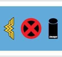 Coexist - comics Sticker