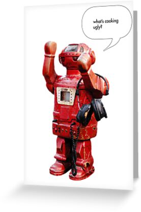 Bibot Robot- what's cooking ugly? by Rem N