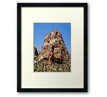 Angels Landing, Zion National Park, Utah Framed Print