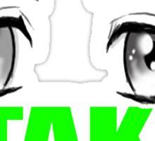 OTAKU! Sticker (GREEN) Sticker