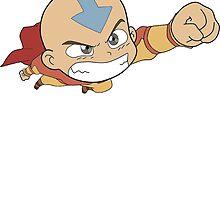 Super Chibi Aang by AvatarYangchen