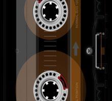 Retro Music Cassette Tape Sticker