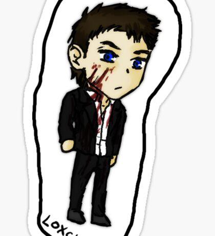 Castiel Season 9 Sticker