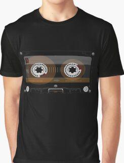 Retro Music Cassette Tape Graphic T-Shirt