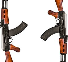 AK47 Sticker Set by LibertyManiacs