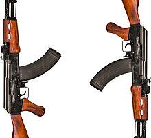 AK47 Sticker Set by LibertyManiacs