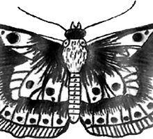 Harry Styles Butterfly Tattoo by imoulton