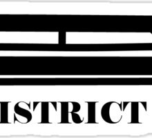 The Hunger Games - District 6 Sticker