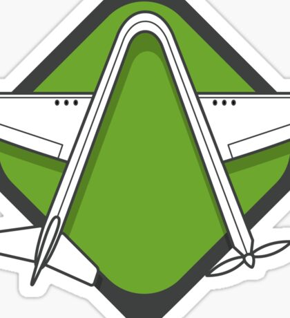 Aviaator Logo Sticker