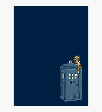 Doctor Whoooo Photographic Print