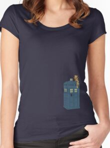 Doctor Whoooo Women's Fitted Scoop T-Shirt