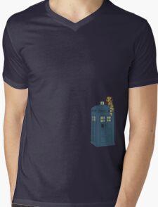 Doctor Whoooo Mens V-Neck T-Shirt
