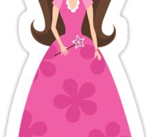 Little pink princess sticker Sticker