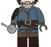 Athos Lego by lluviayui