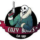 Cozy Bones - sticker by Demmy