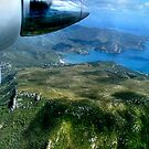 View from an Islander over Great Barrier Island, New Zealand.....! by Roy  Massicks